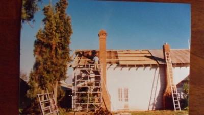 Restoration Heritage Building Hurstone Homestead Shepparton Victoria Exterior 2